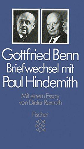 9783596254668: Briefwechsel mit Paul Hindemith