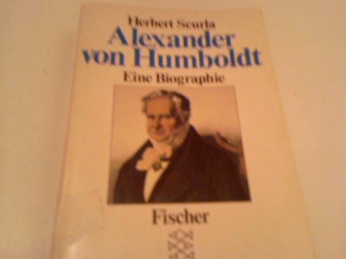 9783596256341: Alexander vom Humboldt. Eine Biographie