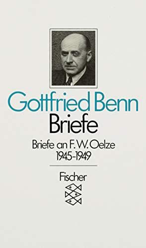 9783596257010: Briefe II/1 an F. W. Oelze 1945 - 1949