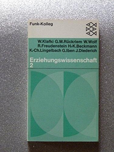 Funk-Kolleg / Erziehungswissenschaft 2: Klafki, Wolfgang: