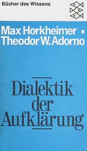 9783596261444: Dialektik der Aufklärung.. Philosophische Fragmente.