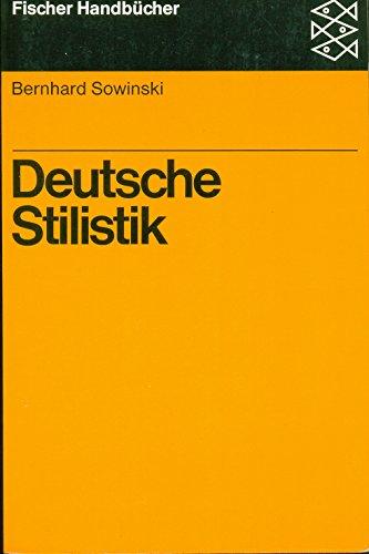 9783596261475: Deutsche Stilistik