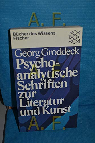 the book of the it georg groddeck pdf