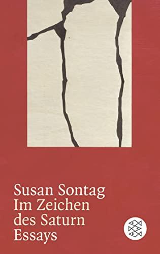 9783596264865: Im Zeichen des Saturn: Essays
