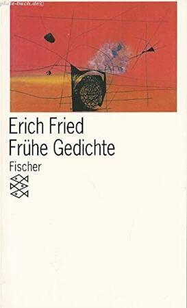 9783596295111 Frühe Gedichte Abebooks Erich Fried