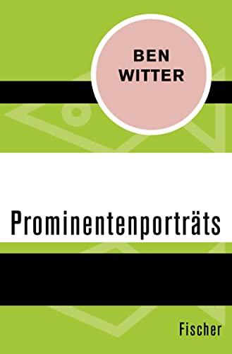 9783596305407: Prominentenportr�ts