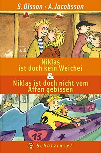 9783596504954: Niklas ist doch kein Weichei / Niklas ist doch nicht vom Affen gebissen. ( Ab 8 J.).