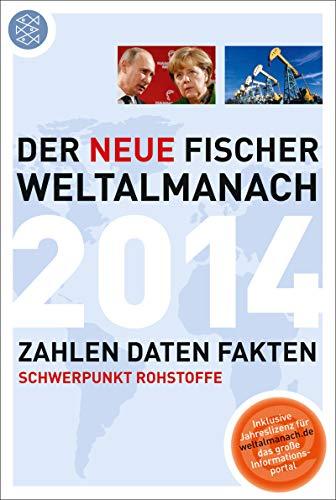 9783596720149: Der neue Fischer Weltalmanach 2014: Zahlen Daten Fakten
