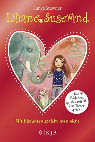 9783596856831: Liliane Susewind - Mit Elefanten spricht man nicht!: Sonderausgabe mit Glitzer-Folie