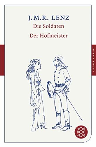 9783596900558: Die Soldaten / Der Hofmeister