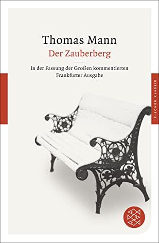 9783596904167: Der Zauberberg: Roman. In der Fassung der Großen kommentierten Frankfurter Ausgabe