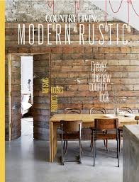 9783598062933: Country Living Modern Rustic Issue 4