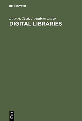 9783598116278: Digital Libraries