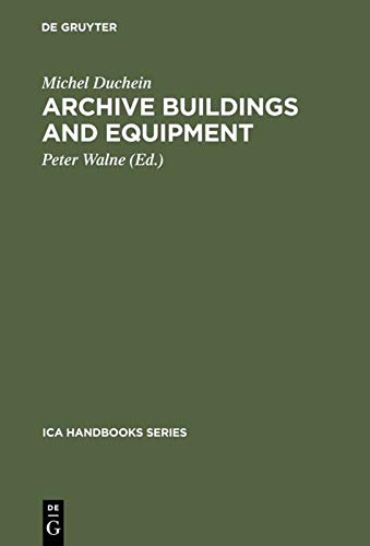 9783598202780: Archive Buildings and Equipment (Ica Handbook)
