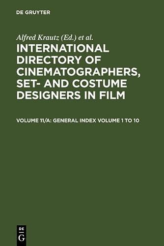 9783598214448: Film Titles, General Index Volume 1 - 10 (German Edition)