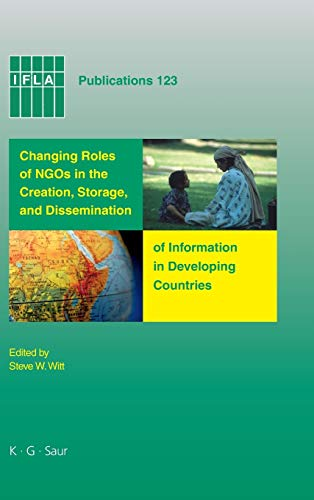 9783598220302: IFLA 123: Changing Roles Of NGO's In Developing Countries (IFLA Publications)