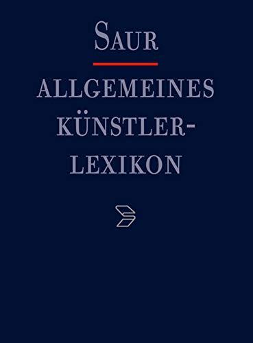 9783598229183: Allgemeines Künstlerlexikon (AKL), Teil 2, Künstlerische Berufe: Register zu den Bänden 51-60