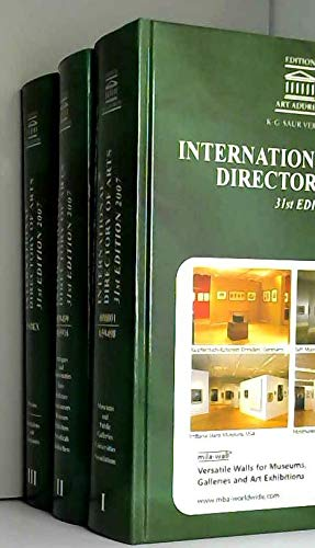 9783598231131: International Directory of Arts / Internationales Kunst-Adressbuch / Annuaire international des Beaux-Arts / Annuario internazionale dell'Arte / Anuario Internacional de las Artes 2007
