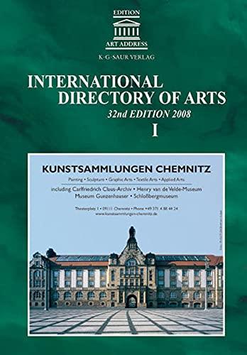 International Directory of Arts: K.G. Saur Verlag