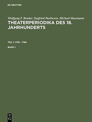 9783598231827: 1750 - 1780: Bd. 1. Bibliographie, Inhaltsverzeichnisse und Einzelregister; Bd. 2. Gesamtregister