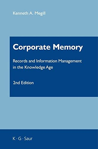 9783598243714: Corporate Memory (Information Services Management Series)