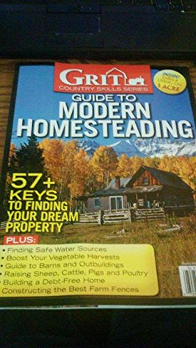 9783598250637: Grit Barnyard Series Guide to Modern Homesteading 2015