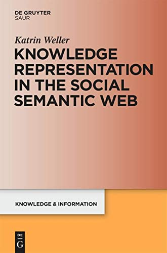9783598251801: Knowledge Representation in the Social Semantic Web (Knowledge and Information)