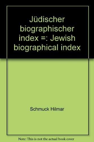 9783598336164: Jüdischer biographischer Index (German Edition)