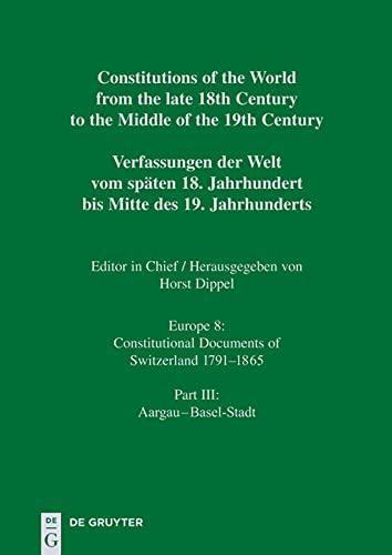 9783598357213: Aargau - Basel-Stadt (German Edition)