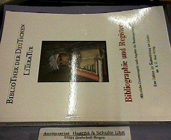 Bibliothek der deutschen Literatur; Bibliographie und Register,: Frey, Axel, ed.