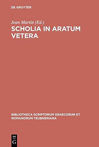 9783598710476: Scholia in Aratum Vetera