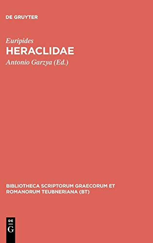 9783598713286: Heraclidae (Bibliotheca scriptorum Graecorum et Romanorum Teubneriana)