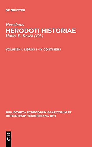9783598714030: Historiae, vol. I: Libri I-IV (Bibliotheca scriptorum Graecorum et Romanorum Teubneriana)