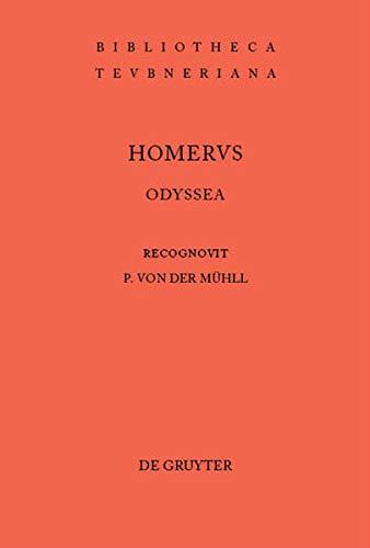 9783598714320: Odyssea (Bibliotheca scriptorum Graecorum et Romanorum Teubneriana)