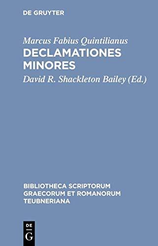 Declamationes minores: Marcus Fabius Quintilianus