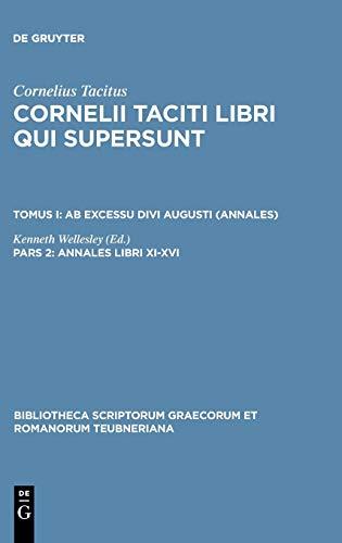 Libri Qui Supersunt, tom. I, pars 2: P. Cornelius Tacitus