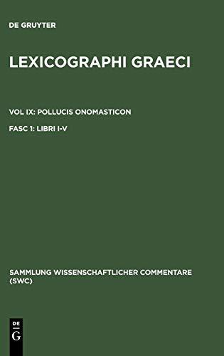 Lexicographi Graeci: Vol. IX: CB: Bethe