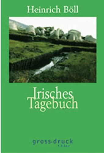 9783598800016: Irisches Tagebuch. Großdruck.