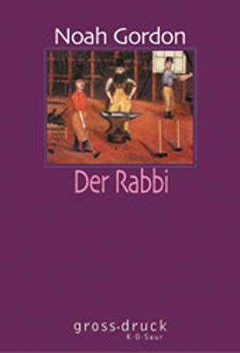 9783598800283: Der Rabbi