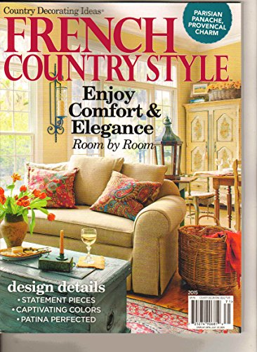 9783598820960: Country Decorating Ideas French Country Style 2015