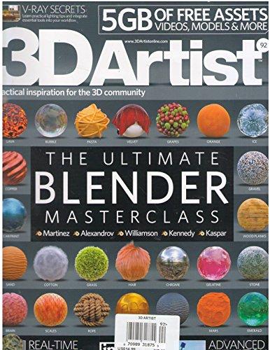 9783598928550: 3D Artist Issue 92