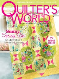 9783598943850: Quilters World Spring 2016