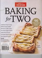 9783598953477: America's Test Kitchen Baking for Two 2016