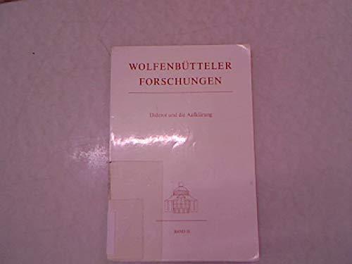 Diderot und die Aufklärung (Wolfenbütteler Forschungen, Band: Dieckmann Herbert (Hrsg.)