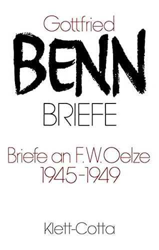 9783608210705: Briefe II/1. Briefe an F. W. Oelze 1945-1949