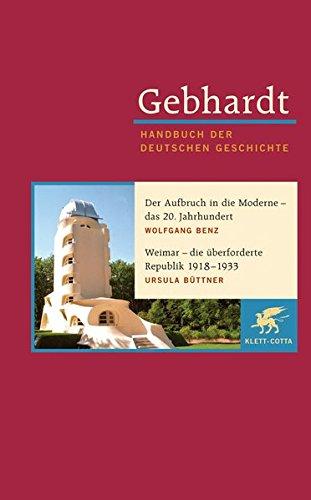 Weimar, Berlin, Bonn, Berlin - Stationen des 20. Jahrhunderts: Wolfgang Benz
