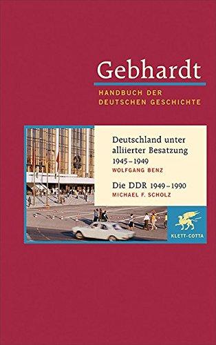 9783608600223: Deutschland unter alliierter Besatzung 1945-1949. Die DDR 1949-1990: 22