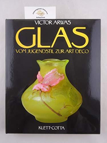 9783608762235: Glas. Vom Jugendstil zur Art Deco.