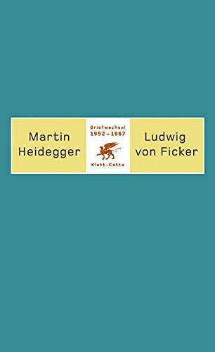 9783608913187: Briefwechsel 1952 - 1967