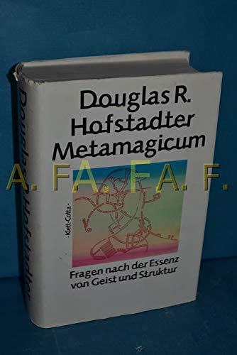 9783608930894: Metamagicum: Fragen nach der Essenz von Geist und Struktur